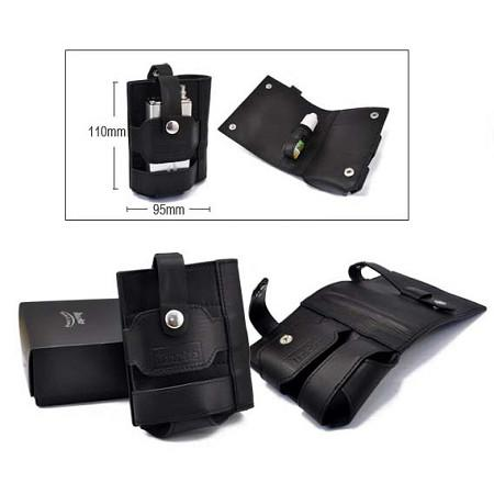 Innokin iTaste MVP / VTR Leather Carrying Pouch - BLACK EDITION