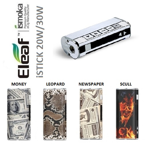 WRAP - ELEAF ISTICK 20W/30W stickers newspaper