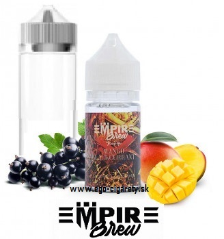 30ml EMPIRE BREW + 60ml GORILLA STYLE FLAŠKA - BLACKCURRANT MANGO