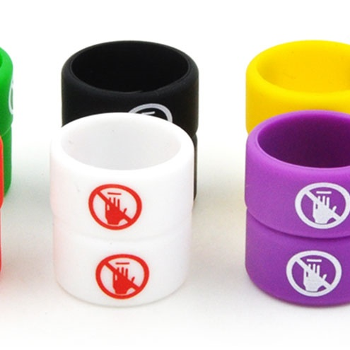 Vapethink Steam Shark Silicone Vape Band NO TOUCHING - BLACK