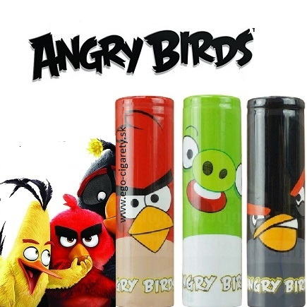 Battery WRAP Skin - ANGRY BIRDS - GREEN EDITION