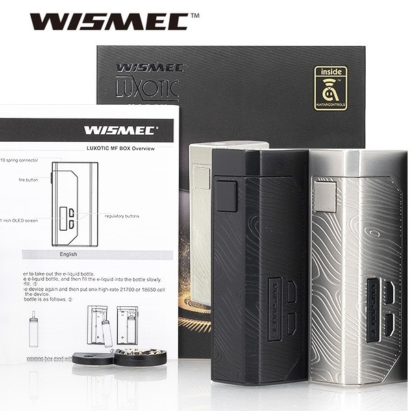 SQUONK KÉSZLETEK / BOXOK  WISMEC LUXOTIC MF MECH BOX MOD 100W