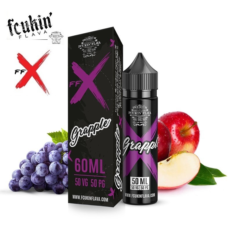 50/60ml Fcukin' Flava by.FFX - GRAPPLE EDITION