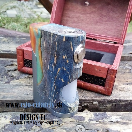 ARCTIC DOLPHIN SOUL STABILIZED WOOD SQUONK MOD - DESIGN E1