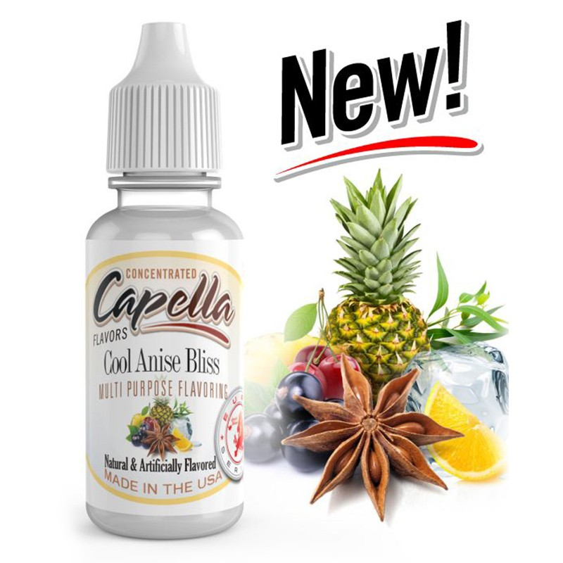 13ml Capella Concentrate - COOL ANISE BLISS