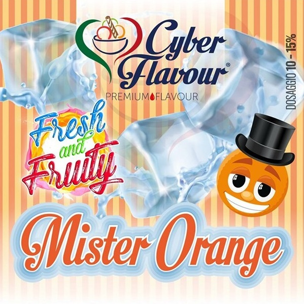 10ml CYBER FLAVOUR - Mr.ORANGE