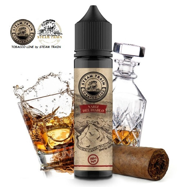 20/60ml TOBACCO LINE by.STEAM TRAIN - NARIZ DEL DIABLO