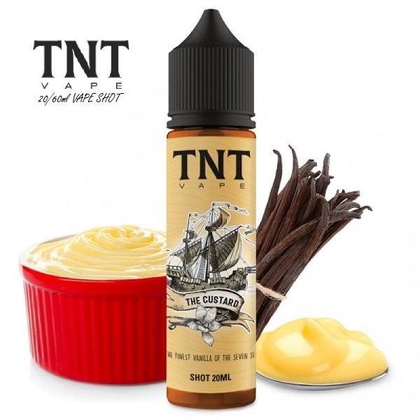 20/60ml TNT VAPE PASTRY -  THE CUSTARD