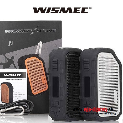 WISMEC ACTIVE BOX MOD 2100mAh BLUETOOTH - BLACK VERZIA