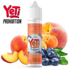 15/60ml YETI by PROHIBITION - BLUEBERRY PEACH