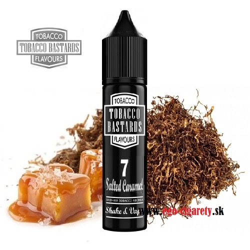 12/60ml FLAVORMONKS BASTARDS - SALTED CARAMEL TOBACCO